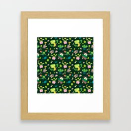 Razor Leaf Framed Art Print