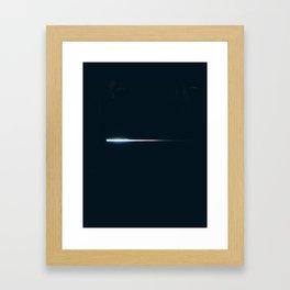 lasers. Framed Art Print
