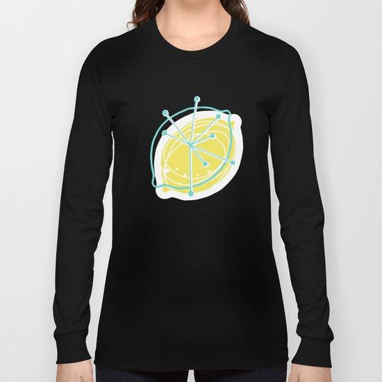 Atomic Lemonade_Green and Cerulean Long Sleeve T-shirt