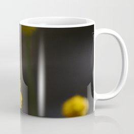 Tiny Yellow Wild Flowers In Field Coffee Mug