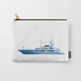 Yacht On The Osa Carry-All Pouch