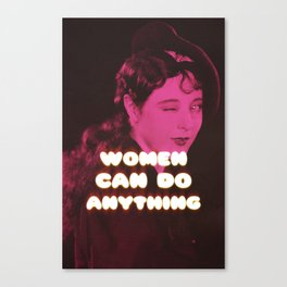 Anything! Canvas Print