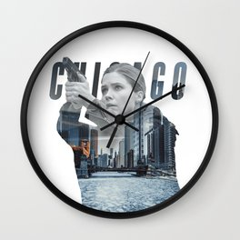 Erin Lindsay from Chicago PD Wall Clock