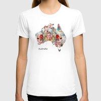 australia T-shirts featuring Australia by bri.buckley