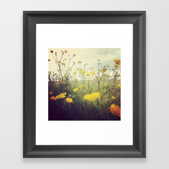 MayIdream Framed Art Print