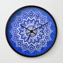 okshirahm, blue crystal Wall Clock
