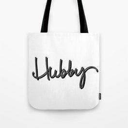 Hubby bold Tote Bag
