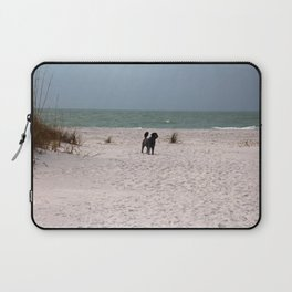 Dandy on the Beach Laptop Sleeve