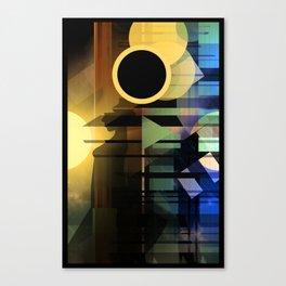 A Mind's Full Canvas Print