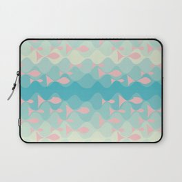 on the wave Laptop Sleeve