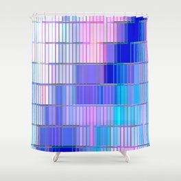 Re-Created CornerStone3~23~14 by Robert S. Lee Shower Curtain