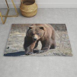 Alaskan Grizzly Bear - Spring Rug