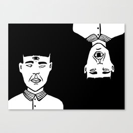 Le troisième oeil Canvas Print