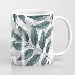Modern autumn leaves image Coffee Mug