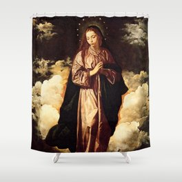 "Diego Velázquez ""The Immaculate Conception"" Shower Curtain"
