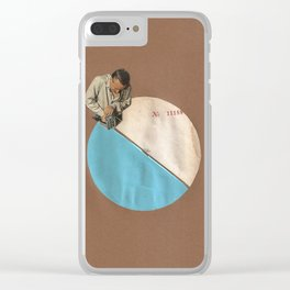 Blue Moon II Clear iPhone Case
