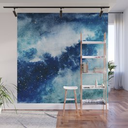 ROYAL BLUE GALAXY Wall Mural