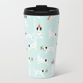 Spotted Dogs Mint Travel Mug