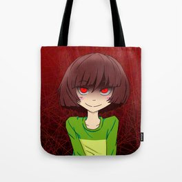 Undertale fight or mercy Tote Bag