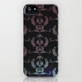 Damask Print iPhone Case