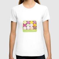 macarons T-shirts featuring Macarons by Rachel Zaagman