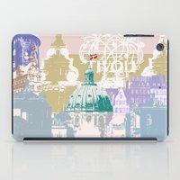 copenhagen iPad Cases featuring Copenhagen Collage by Tokyo Rose