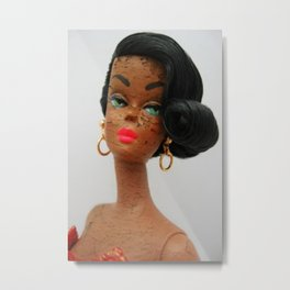 Shanelle Doll Metal Print