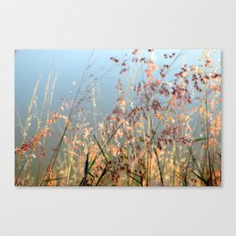 Baila con el viento  Canvas Print
