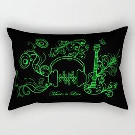 Music - 2 Rectangular Pillow