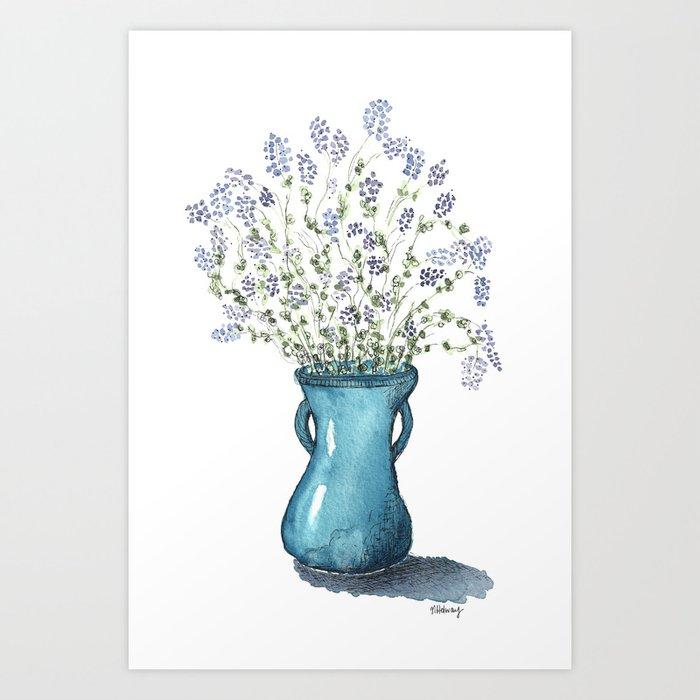 Alfalfa Bouquet Art Print