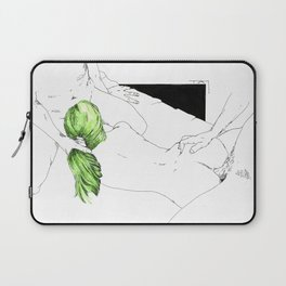 GreenHair Laptop Sleeve