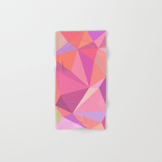 Triangle abstract Hand & Bath Towel