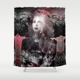 Fireworks Of The Mind Shower Curtain