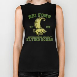 Bei Fong Academy Flying Boars (Black) Biker Tank