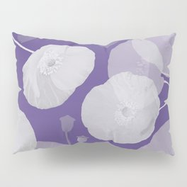 Ultra Violet Floral Abstract. Pantone Color of the Year 2018 Pillow Sham