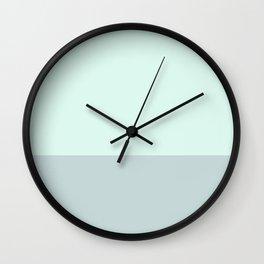 #ddf8ef Wall Clock