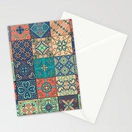Arabic tile pattern Stationery Cards