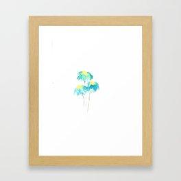 Blue Daisies Framed Art Print
