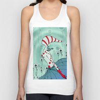 flight Tank Tops featuring flight by DanilaTrubarova
