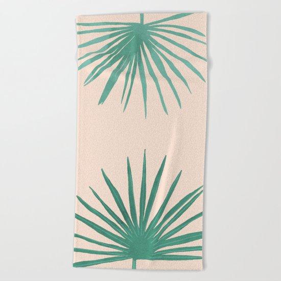 Petticoat Palms Beach Towel
