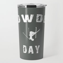 Powder Day Grey Travel Mug
