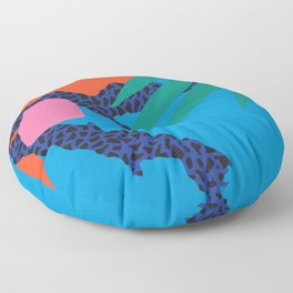 Tropical Cocktail by Zulu Zion Floor Pillow