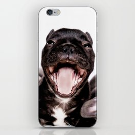 It's a Ruff life being a Puppy! iPhone Skin