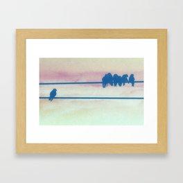 Left Out Framed Art Print