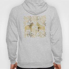 Swedish Dala Horses – Gold Palette Hoody