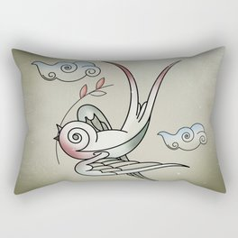 Sparrow Rectangular Pillow