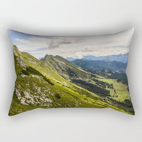 Majestic Mountains Rectangular Pillow