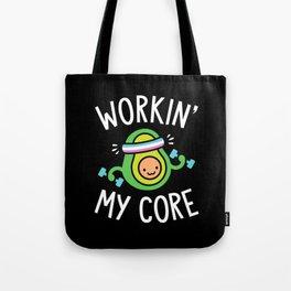 Workin' My Core Tote Bag