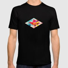Squared Mens Fitted Tee MEDIUM Black