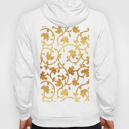 Golden Damask pattern Hoody